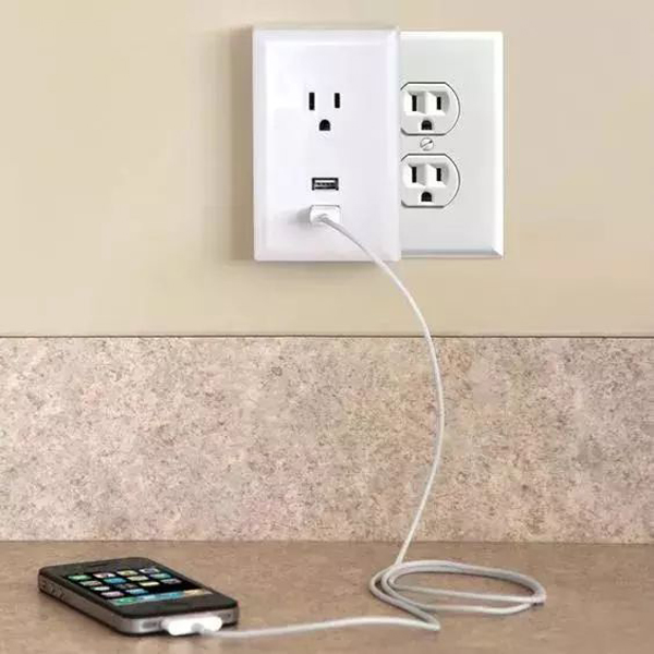 Wall outlet charger