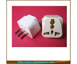 10A 250V 4.0MM Multi-Use Universal To 3 Pin Italy Plug Adapter SE-UA12