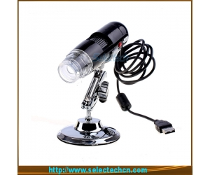 200X 1.3MP digital microscope with 8LED and measurement software SE-PC-001