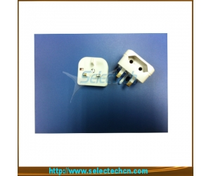 5 Amp 2 Pin To 3 Pin Eu To Uk Adapter Travel Plug  SE-CP1