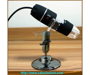 Best selling 2.0M 200x digital microscope With Measure tools and 8 LED lights SE-DM-200X
