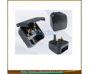 China Shenzhen Factory Travel Adaptor Euro To UK 3 Pin 13A Plug SE-ECP