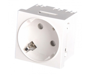 Duroplast surface-mounted socket German-style AC power socket