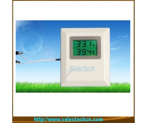 Humidity and temperature sensor/transmitter for Wall Mounting with LCD display SE-MW series