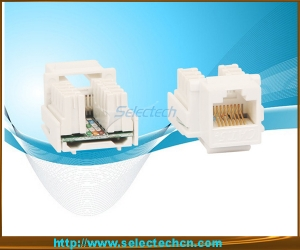 RJ45 Keystone Jack with Krone IDC NE-23-Cat5e/Cat6