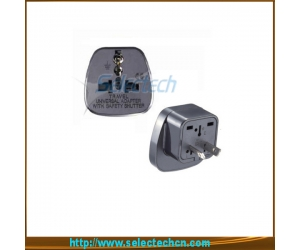 Safe Multi Adapter Series Sale In Bulk South Africa Universal Trip Plug Converter With Security Gate SES-17