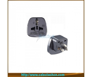 Safe Multi Adapter Series Universal To 3 Pin USA Plug Adapters With Secuity Gate  SES-5