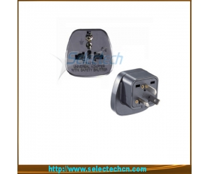 Safe Multi Adapter Series Universal To Ausrtralia Travel Plug Adapter With Security Gate SES-16