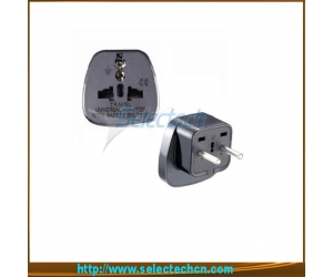 Safe Multi Adapter Series Universal Uk to Euro Plug Adapter With Security Gate SES-9A
