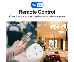 US Smart socket WiFi Remote Control Timing on/off The Power Samrt   Home plug Electric Mini Socket Support Alexa Google