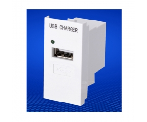 USB module for wall plate 45 type 5V 1A USB charging port