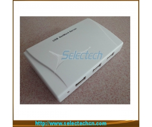 USB2.0 10/100M Network Print 4 Port Usb Network Server SE-204U