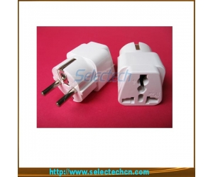 Universal To Germany Plug Adapter   Converter  SE-UA9