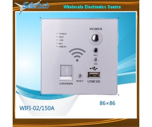 Wireless Wifi Routers USB/3G POWER/ WPS LAN Wall Wifi Router with USB Charger WIFI-02