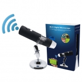 La fábrica de China 1000X 8Led Light Electron Smartphone Camera wireless digital Wifi microscope