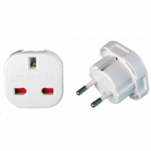 Chine 10 a/16 a 240V 4.0/4,8 mm UK to Europe plug adapter se-9625 usine