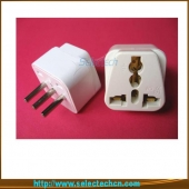 China 10A 250V 4.0MM Multi-Use Universal To 3 Pin Italy Plug Adapter SE-UA12 factory