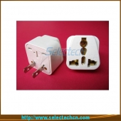 China 10A 250V Hottest 2 Pin Universal EU to US plug adapter  SE-UA6 factory