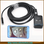 China 2016 newest 9mm endoscope Borescope Inspection snake camera wifi 6 LED for iphone and Android Phone android external usb camera factory