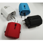 China All in one multi plug socket travel power adapter universal tablet mobile charger USB travel charger factory