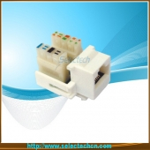 China Cat5e Keystone Jack 110 IDC NE-27A fábrica