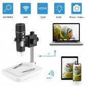 China Factory wholesale high quality wifi microscope camera 1000x usb and wifi microscope digital factory