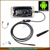 China HD 720P 9mm Android-endoscoop 6 LED Waterproof USB medische endoscoop camera SE-U9 fabriek