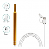 China HD Visual Earpick Ear Cleaning Endoscope 3 in 1 Earwax Clean Tool 5.5MM Mini Health Care Inspection Camera factory