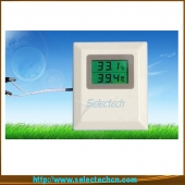 China Humidity and temperature sensor/transmitter for Wall Mounting with LCD display SE-MW series factory
