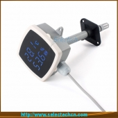China Humidity and temperature transmitter for Duct Mounting with LED display SE-MF series factory