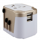 China New gadget electronic gifts multi usb travel adapter universal electrical socket plugs cell phone charger factory