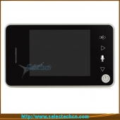 China New products 3.5 inch LCD 2.4ghz wireless 2 way ring video with handfree video door phone SE-UE353 factory