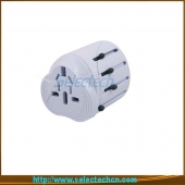 China Portable World travel adapter for gift with usb port SE-MT001U factory