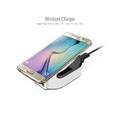 China QC 3.0 Quick Charge draadloze oplader met 50W power 2-poorts Smart Charger fabriek
