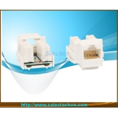 China RJ45 Keystone Jack with Krone IDC NE-23-Cat5e/Cat6 factory