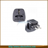 China Safe Multi Swiss Travel Plug Adapter Met Security Gate SES-11A fabriek