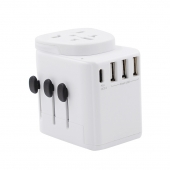 China The Safest Global Travel Adapter ST-901D Type-C PD+QC USB*4 Fast Charger with BS certification factory