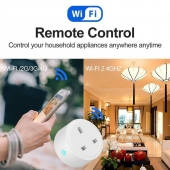 China US Smart socket WiFi Remote Control Timing on/off The Power Samrt   Home plug Electric Mini Socket Support Alexa Google factory