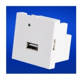 China USB charger modules 50x50mm single port USB charger module 5V 2.1A for 86 panel factory