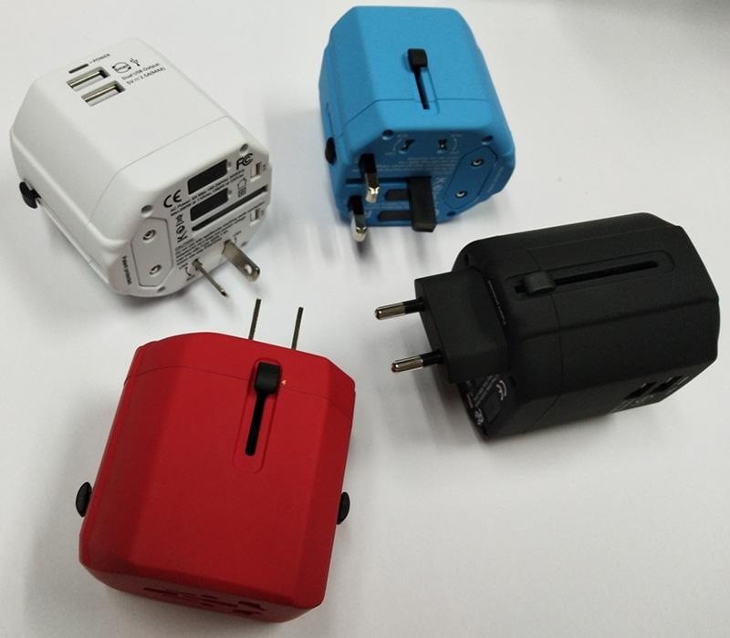 ĸ�界旅行ギフトマルチプラグアダプターusbポート充電器プラグユニバーサル世界旅行アダプター