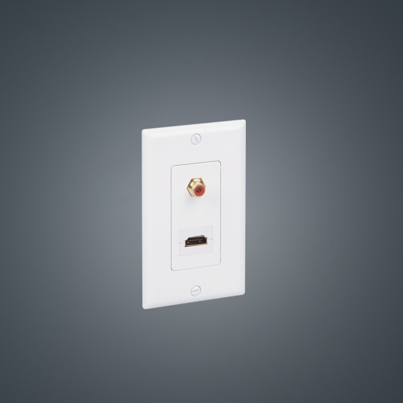 Wallplate Rca Jack Hdmi Female A Collection Of Audio And